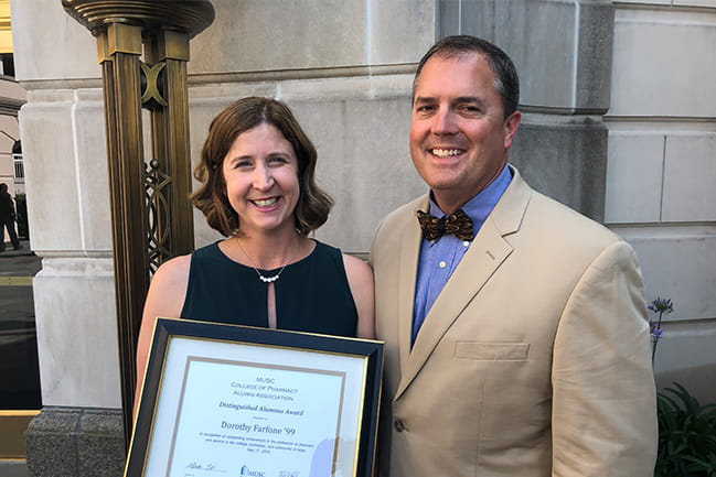 Dottie Farfone awarded Distinguished Alumnus of the Year